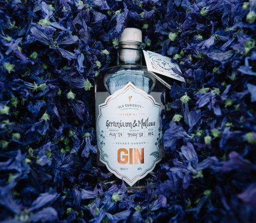 Scottish craft gin brand Old Curiosity