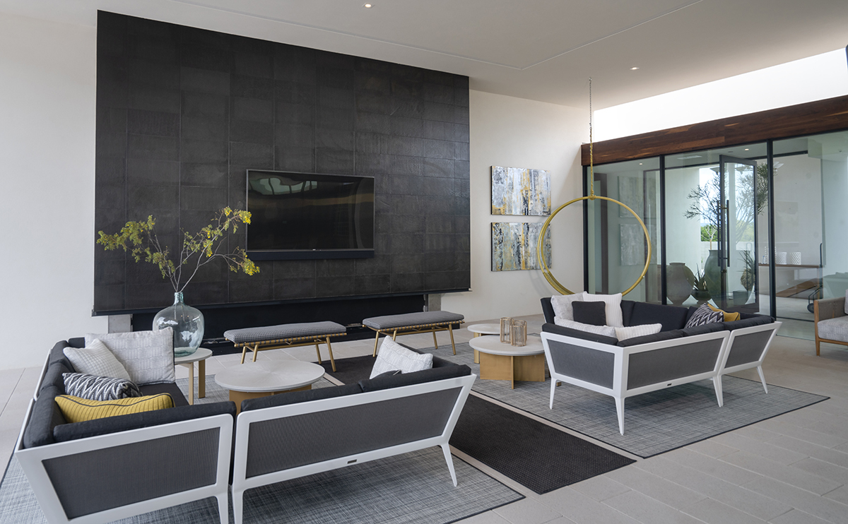 ICONIC HAUS Patio Room by AB Design Elements