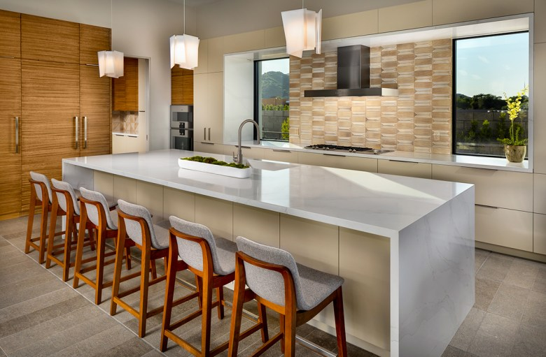 modern kitchen Shea Homes Azure