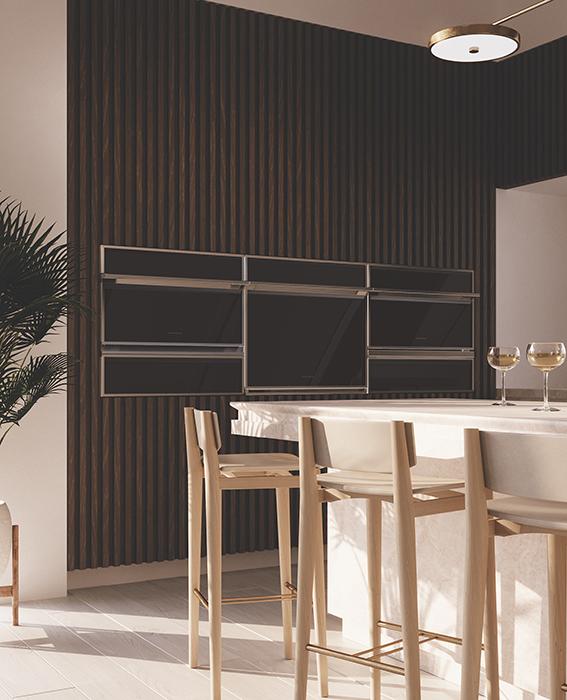 wall oven minimal kitchen Monogram