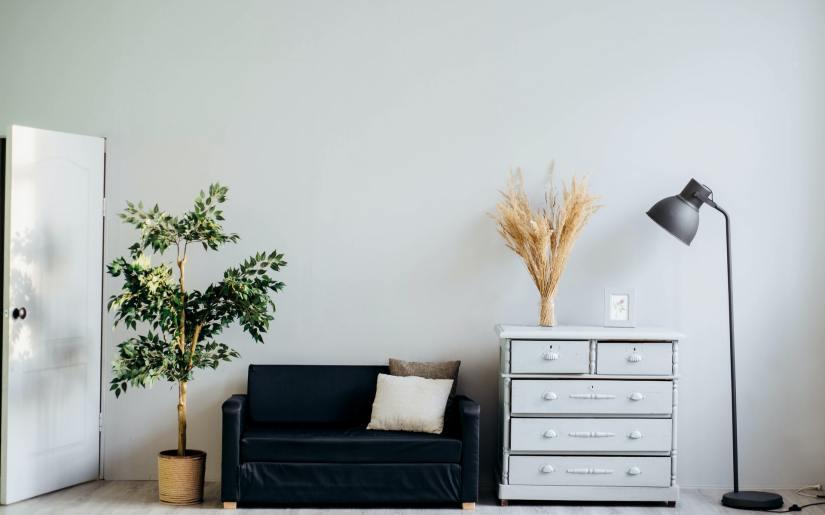 black furniture home decor