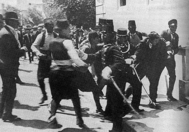 Gavrilo Princip Shooting Franz Ferdinand