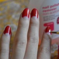 DIY: Half-Moon Manicure