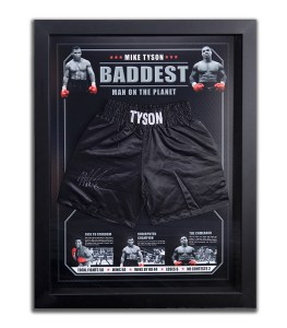 mike-tyson-boxing-shorts-memorabilia-framed