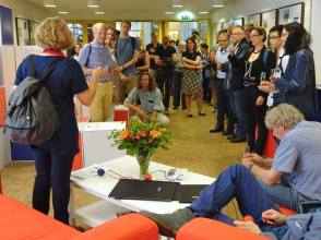 Birgit Meyer opens the exhibition