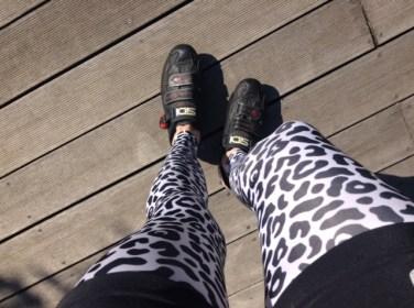 leopard leg coolers