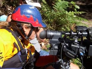 Polly Green, filmmaker and Kayak champion