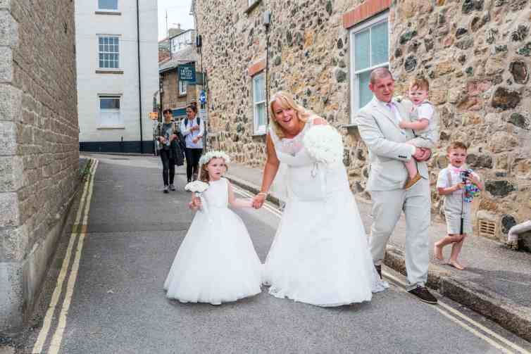 Wedding Photographyy in Cornwall - St Ives