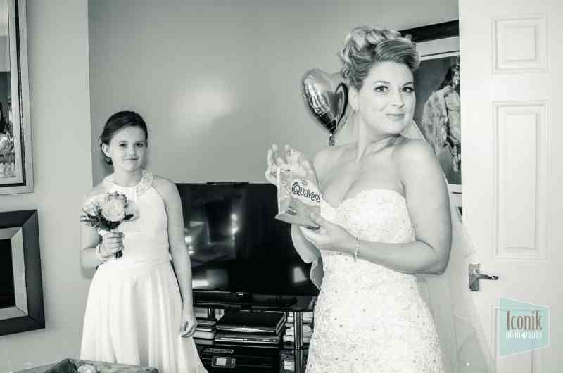 bridal prep photography in Plymouth