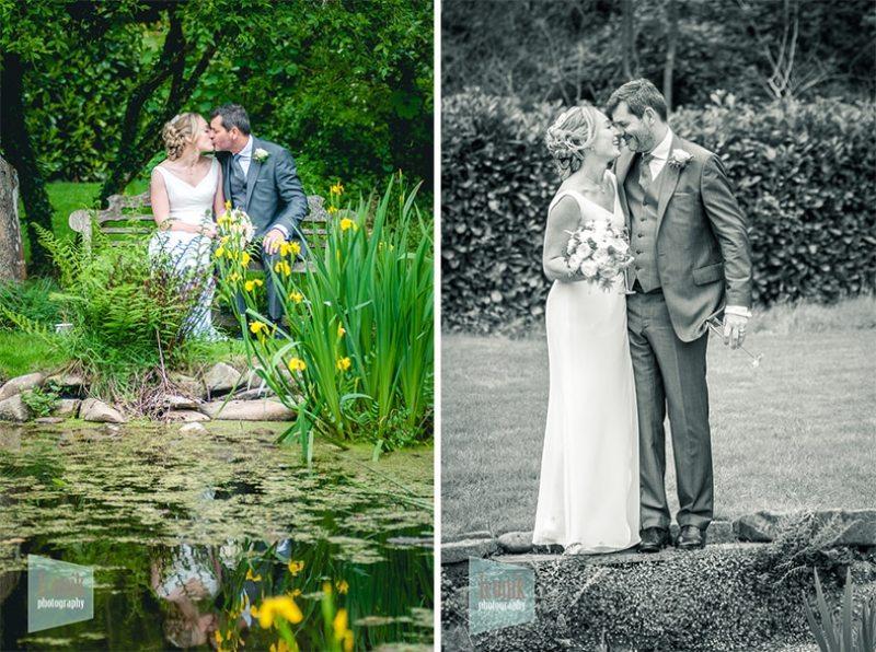 romantic wedding day photography
