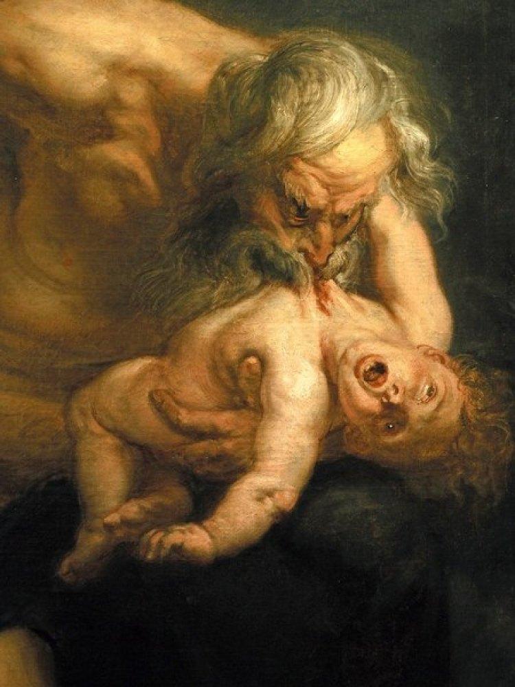 Saturn devouring Child