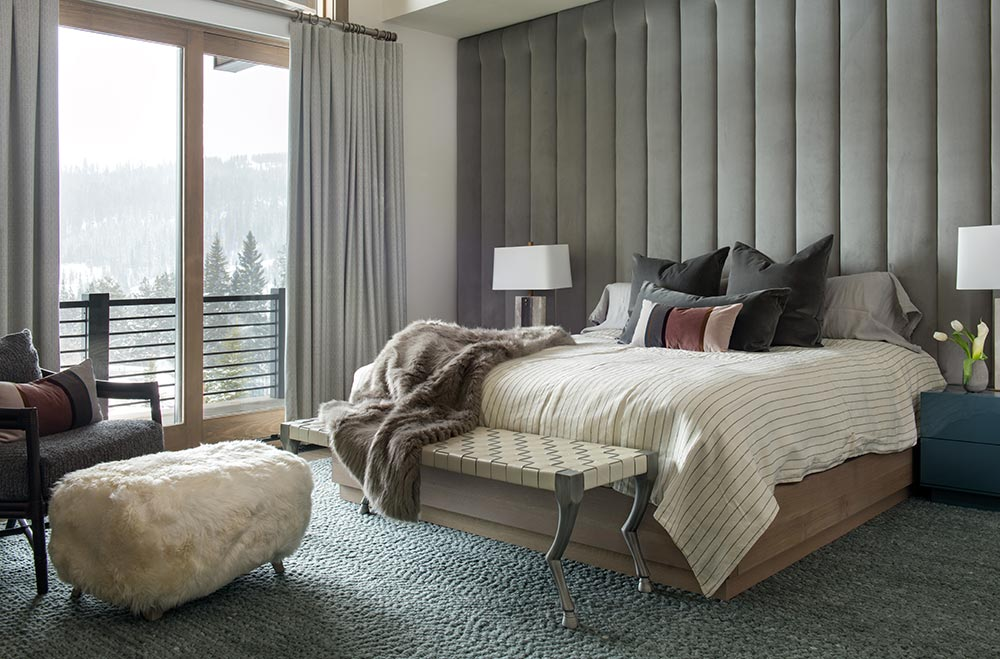 Icon Interiors Blackwater Project Modern Bedroom