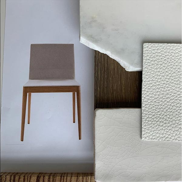 Icon Interiors Blackwater Project Dining Room Flatlay