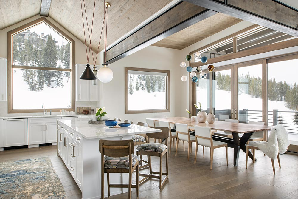 Icon Interiors Blackwater Project Kitchen and Dining Room Design