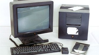 The NeXT computer on which Sir Tim Berners-Lee wrote the World Wide Web