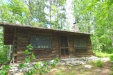 The cabin, kept as original as possible