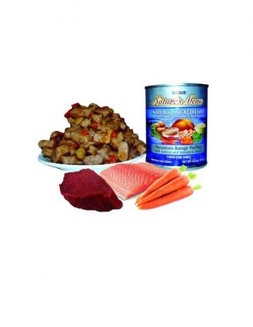 lata alimento humedo natural saludable perro nutricion super premium