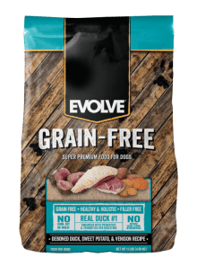 Evolve-Grain-Free-Duck-DogFood 1