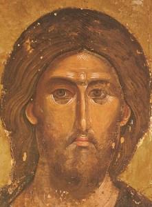 Jesucristo el Salvador, del Monasterio servio del Monte Athos.