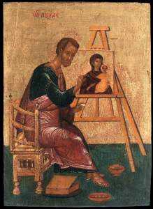 San Lucas Evangelista, el pintor de la Virgen María.