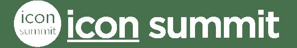 icon summit logo white