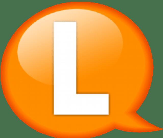 Speech Balloon Orange L Icon