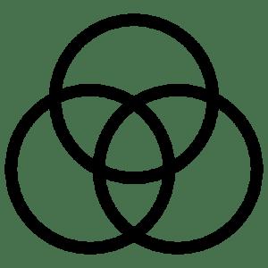 Venn Diagram Icon | Line Iconset | IconsMind