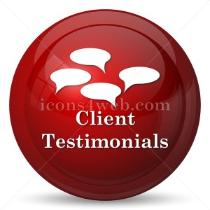 Client testimonials icon - Buy Icons for your website
