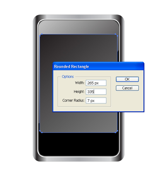 Phone Vector Tutorial 7 Step