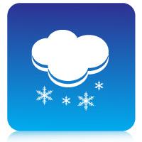 Weather symbols vector graphic