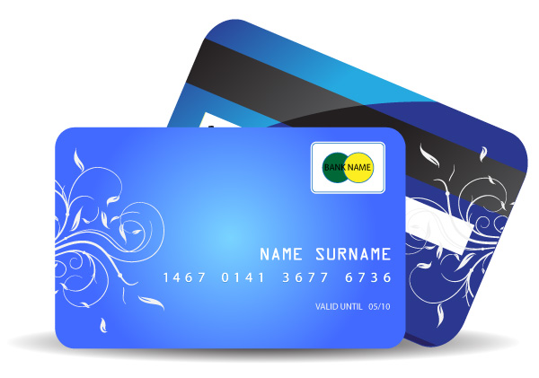 Credit Card Vector Graphic