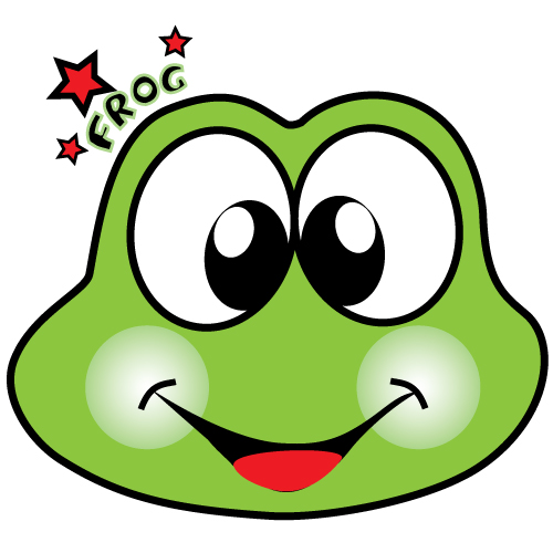 Frog Vector Graphic