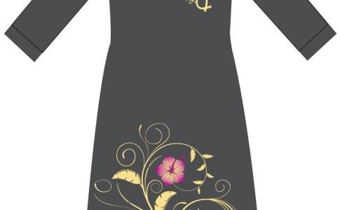 Woman Floral Design