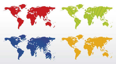 colored-vector-world-map