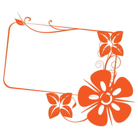 Floral Banner Graphic