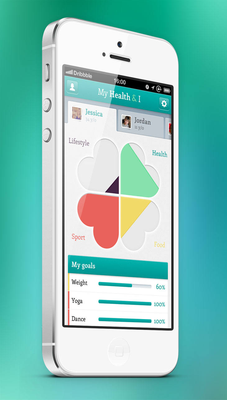 My-Health-iPhone-app