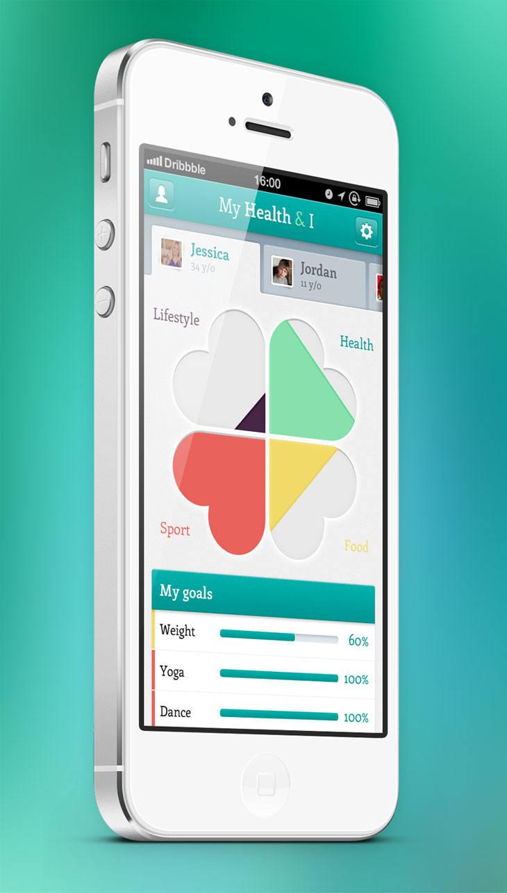 Mobile ui design examples design blog for Good room design apps