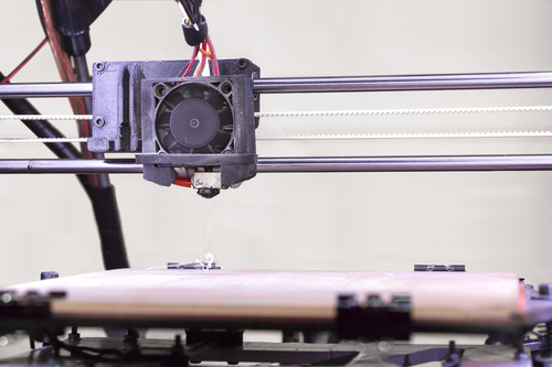 Detail of the Open Source 3D Printer