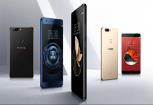 Nubia Z17 all colors.