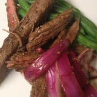 Balsamic Flank Steak-- South Beach Phase 1 Dinner