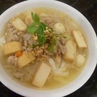 Thai Kway Teow Soup (Thai Noodle soup)