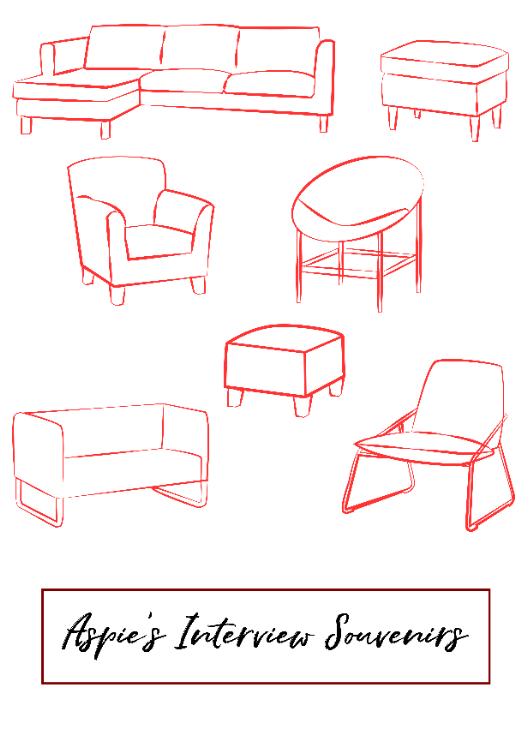 Aspie's Interview Souvenirs.