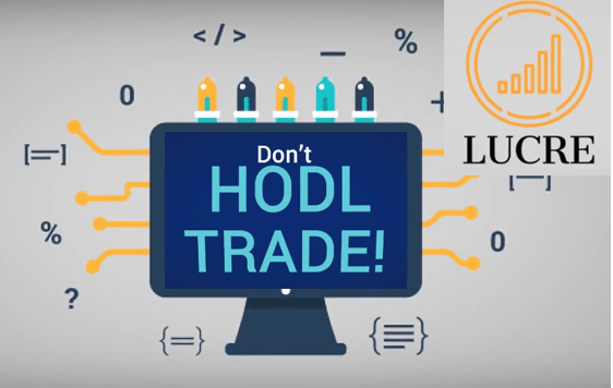 "financial algorithms for trading with the slogan ""don't hodl, trade!"