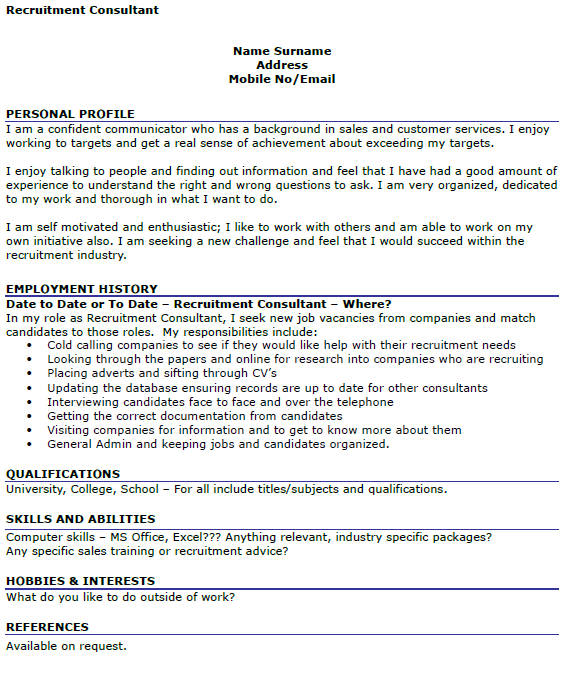 Manager Trainee Job Description