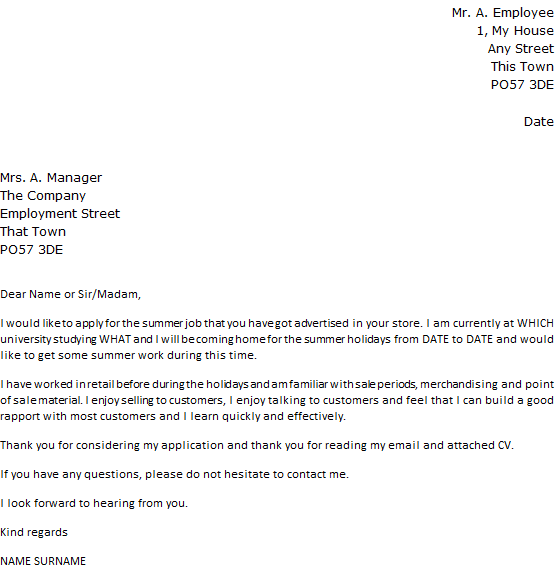 Cover Letter Cv Email Sample. Cover Letter Format Email Resume