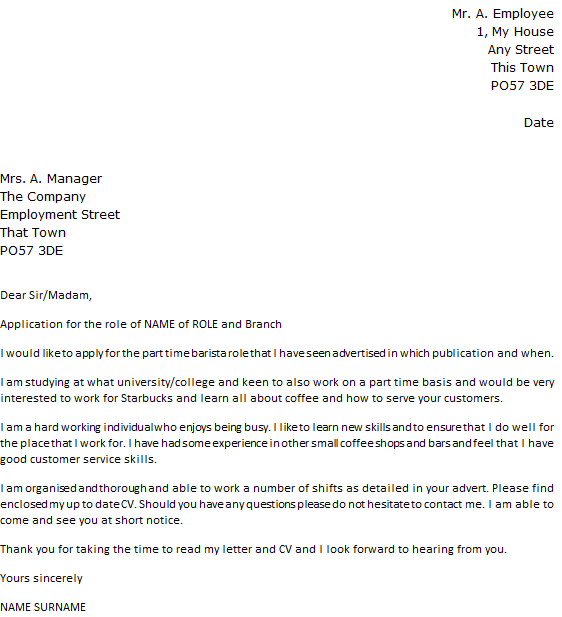 cover letter dear sir madam sample - Writing A Covering Letter Uk