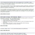 CAD Technician CV Example