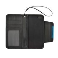 Black Detachable Horizontal Flip Leather Wallet iPhone 7 Case 1