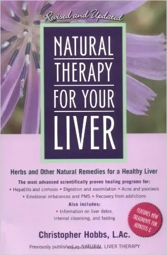 Natural Therapy for Your Liver Book