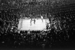 Heavyweight bout 'Fight of the Century' at Madison Square Garden. (Neil Leifer for Sports Illustrated)